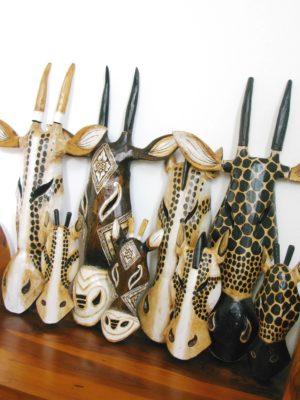 Giraffe Masks