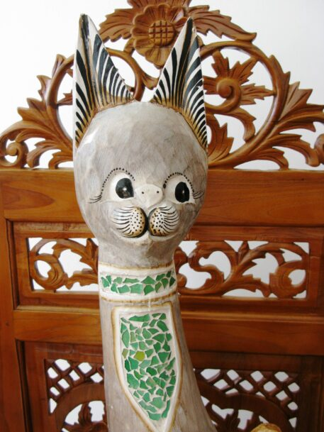 Cleopatra the wooden cat 100cm