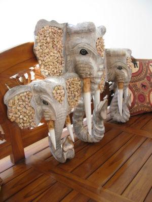 Edmond the elephant mask set