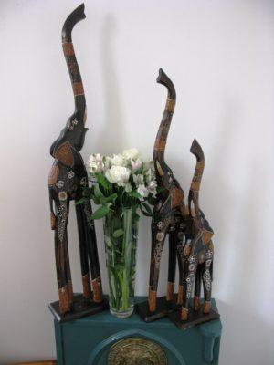 Elroy the wooden elephant set