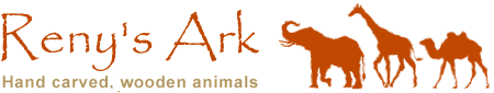 Reny's Ark – Hand Carved Wooden Ornaments